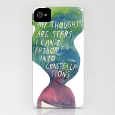 The Fault in Our Stars iPhone case. ♥