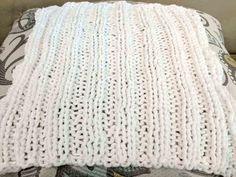 Knit Ribbed Stitch Dishcloth