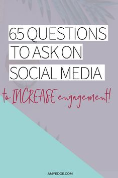 65 Questions to Ask on Social Media to Get the Conversation Started. Asking questions on social media is a great way to engage your audience. Here are 65 social media questions you can ask to increase engagement. Social Media Branding, Social Media Apps, Social Media Trends, Social Media Instagram, Tips Instagram, Instagram Marketing Tips, Social Media Content, Social Media Posts, Coach Instagram