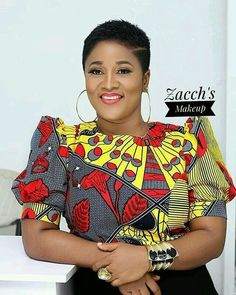 The Most Latest Ankara Top Styles Suitable for Your Palazzo, Bootcut, Office Skirt and Denim Trousers. African Fashion Designers, African Fashion Ankara, Latest African Fashion Dresses, African Print Fashion, Africa Fashion, African Style, Ghana Fashion, Fashion 101, Fashion Styles