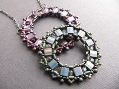 La Bella Joya, La Rondella Beaded Pendant Tutorial for purchase