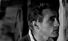 "wehadfacesthen: ""James Dean as Cal Trask in East of Eden (Elia Kazan, "" Classic Hollywood, Old Hollywood, Dean Gif, James Dean Photos, East Of Eden, Jimmy Dean, Old Movie Stars, Star Wars, American Actors"