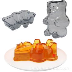 I've heard something about you crazy kids taking GummiBears, soaking them in vodka, and having a grand old time.  I think you'd really turn heads at your next Boozy-Bear party if you turned up with a few of these Jell-O molds, with the vodka or liquor of your choosing gelled right in.