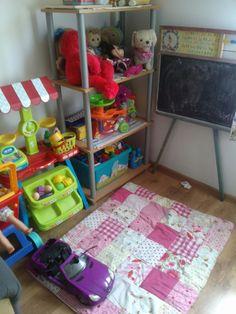 Zabawkowy kącik dla dziecka