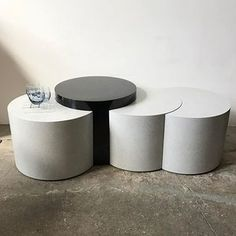 Vintage large laminate circle coffee table Stuff to Buy