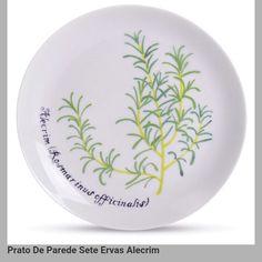 Prato de parede sete ervas: Alecrim. Depósito Santa Mariah de Renato Hofer. Vânia Oliveira. 28092016