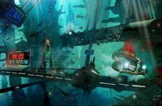 Underwater Future Noir - Luis Peres