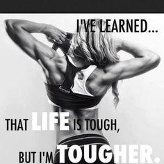 Motivção para a vida toda - A vida é dura, mas eu sou mais.