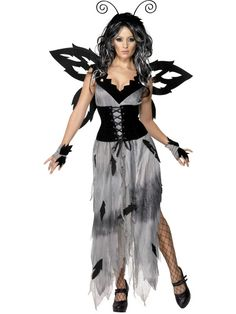 Gothic Manor Sinister Forest Fairy Costume | Smiffy's AUS