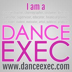 Dance Exec Badge