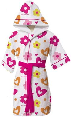 bata de baño                                                                                                                                                                                 Más Dream Kids, Sewing For Kids, Toddler Fashion, Hello Kitty, Daughter, Shirt Dress, Lady, Casual, Clothes