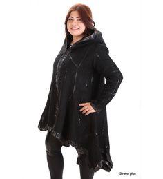 Дамско палто от вълна Marine / WOOL COAT plus size