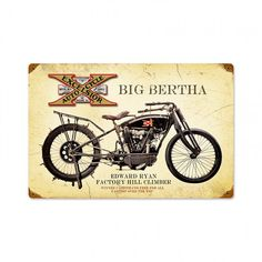 c01d085a91c88a 30 Best Motorcycle Art Collectibles Signs images
