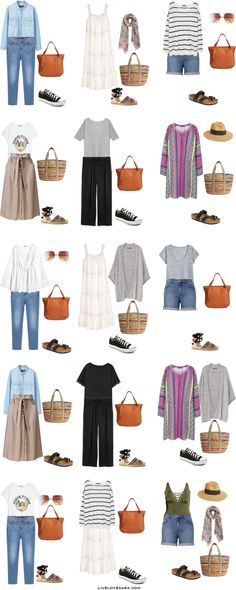 What to Pack for a Road Trip Plus Size Packing Light List Outfit Options 1-15
