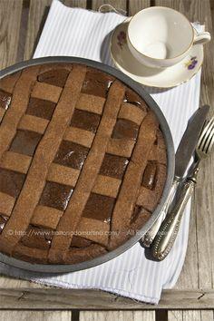 Crostata al cioccolato di Ernst Knam - Trattoria da Martina - cucina tradizionale, regionale ed etnica