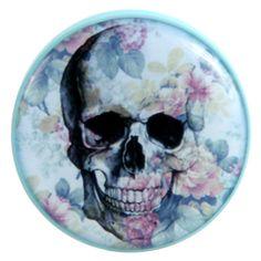 14mm (£18.00) http://ukcustomplugs.bigcartel.com/product/floral-skull-plug-gauge#