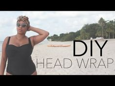 DIY: Head Wrap - quick and easy way to wear a scarf