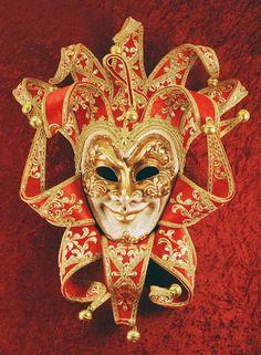 Joker, velluto... Venetian mask