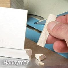 Coped joints for baseboard look great, but can be time-consuming. Instead of using a coping saw, learn to cope baseboard with a miter saw. It's faster and works great for common baseboard profiles.
