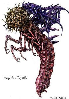 Tatsuya Nemoto (nottsuo) - H.P Lovecraft Illustrations