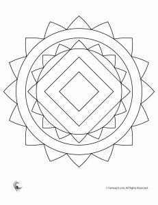 Mandala Coloring Pages for Kids & Adults Mandalas Painting, Mandalas Drawing, Mandala Coloring Pages, Coloring Book Pages, Coloring Pages For Kids, Coloring Sheets, Simple Coloring Pages, Mosaic Drawing, Zentangle Patterns