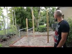 How to make a Barstarzz park - YouTube (basic outdoor callisthenics gym for suggestions to council for local parks)
