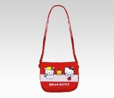 Hello Kitty Shoulder Pouch: Sweet Apple
