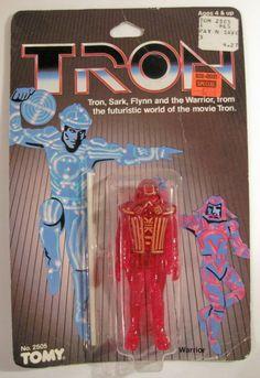 Tron Warrior action figure