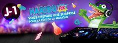 "Teasing  ""FêteDeLaMusique #HariboPik #atnetplanet"