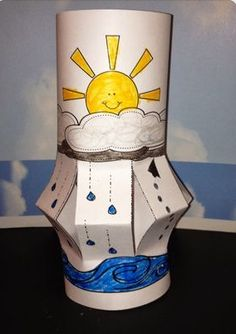 Cycle Wind Sock Craft for Weather Science Fun Water cycle craft --- a water cycle lantern by Robin SellersWater cycle craft --- a water cycle lantern by Robin Sellers Water Cycle Craft, Water Cycle Project, Water Cycle Activities, Science Activities, Science Projects, Activities For Kids, Weather Activities, Kindergarten Science, Elementary Science