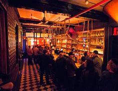 the scene— Acesnspades Bar