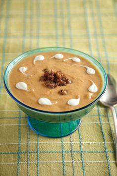 Paula Deen Sweet Potato and Date Soup