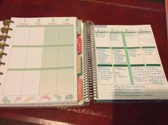 Final weekly view. I was worried about switching to a disc bound planner, but it's a lot sturdier than I thought. I love that I can remove and add pages and the paper quality of the HP does seem to be slightly better than the ECLP. I think I'll enjoy using it as much as I have the ECLP x #HappyPlanner #meandmybigideas