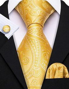 Gold Silk, Black Silk, Men's Fashion, Fashion Suits, Fashion Ideas, Men Dress Up, Teal And Grey, Wedding Ties, Tie Set