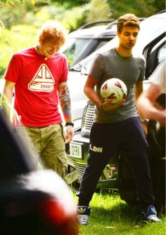 Aww, Ed and Liam. <3