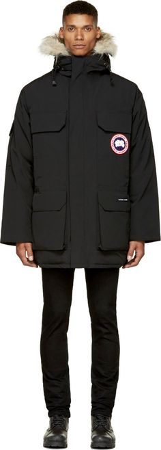 Canada Goose' jacket black patch