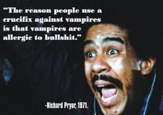 Richard Pryor, prior to Eddie Murphy and Chris Rock, the best black comedian out there.