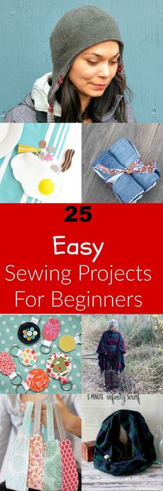 25 Easy Free Sewing Tutorials for Beginners - On the Cutting Floor: Printable pdf sewing patterns and tutorials for women | On the Cutting Floor: Printable pdf sewing patterns and tutorials for women