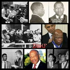 """HAPPY 75TH BIRTHDAY TO LEGENDARY CIVIL RIGHTS LEADER, MR. JOHN LEWIS!!!  John Robert Lewis is a politician and civil rights leader. He is the U.S. Representative for Georgia's 5th congressional district, serving since 1987, and is the dean of the Georgia congressional delegation. The district includes the northern three-quarters of Atlanta.  Lewis was one of the """"Big Six"""" leaders in the American Civil Rights Movement and chairman of the Student Nonviolent Coordinating Committee (SNCC)…"""