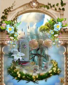 Good Morning Wishes Gif, Good Morning Coffee Gif, Lovely Good Morning Images, Good Morning Beautiful Flowers, Good Morning Cards, Beautiful Nature Pictures, Beautiful Rose Flowers, Good Morning Picture, Beautiful Gif