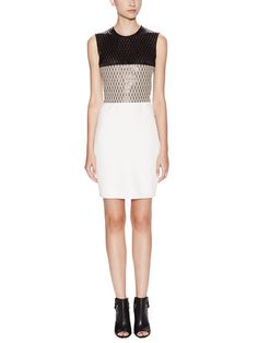 Diamond Colorblock Sheath Dress by Narciso Rodriguez at Gilt