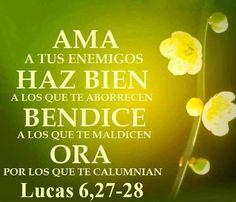 Lucas 6,27-28