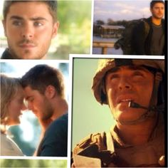 The lucky one..zac efron(:
