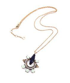 Fashion Jewelry : Solar Eye Necklace