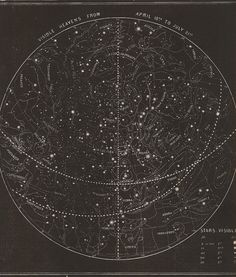Stars Visible  Fine Reproduction of Antique by LeAtelierPrints, $9.95