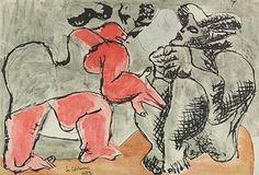 Le Corbusier, Deux figures