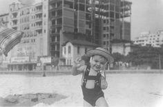 Fotos antigas do Rio de Janeiro - Praia de Copacabana - Anos 30