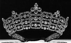 British - The Boucheron Honeycomb Tiara