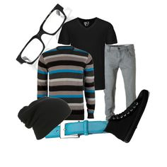 """Boyfriend Clothing 8"" by dropdead on Polyvore"