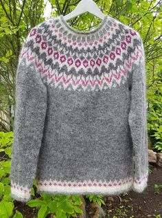 Fair Isle Knitting Patterns, Fair Isles, Diy Crochet, Men Sweater, Pullover, Wool, Facebook, Sweaters, Crafts